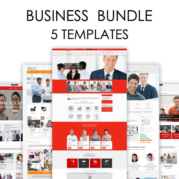 Business Bundle Joomla Templates