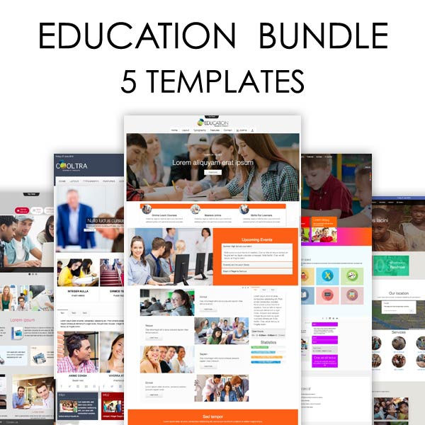 Education Bundle Joomla Templates