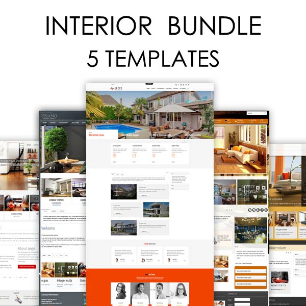 Interior Bundle Joomla Templates