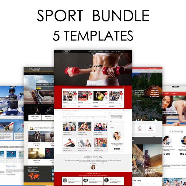 Sport Bundle Joomla Themes