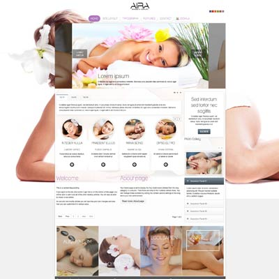 spa and wellness joomla theme