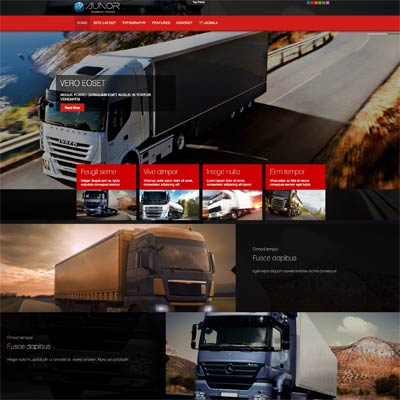 Transportation and Logistics Joomla Template