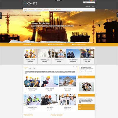 Industrial and Engineering Joomla Template