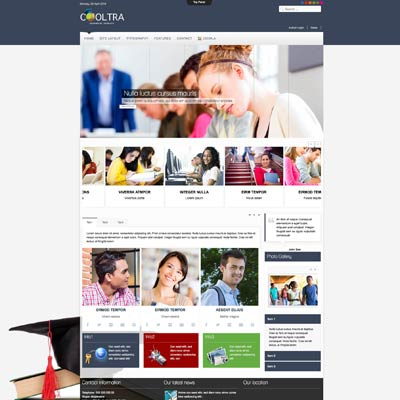 University & School Joomla Template