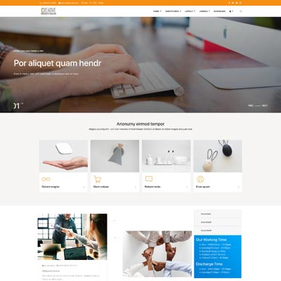 Optometrist Joomla Template