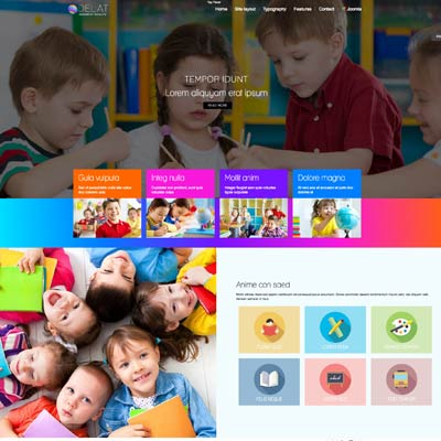 Children Education Joomla Template