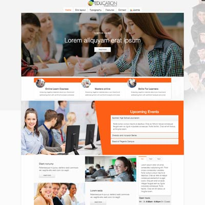 School & Education Joomla Template