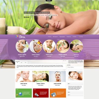 Beauty Spa Joomla Template