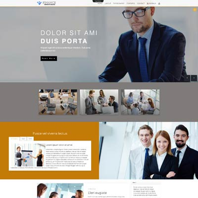 Td Finance Joomla Template