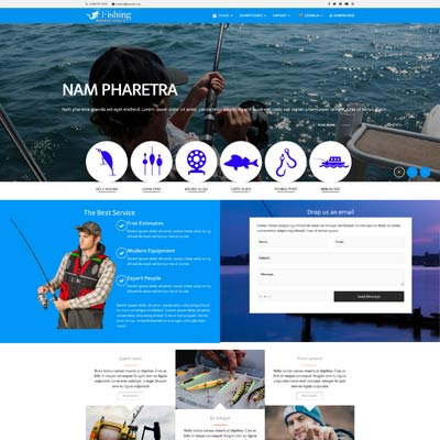 fFishing Joomla Template