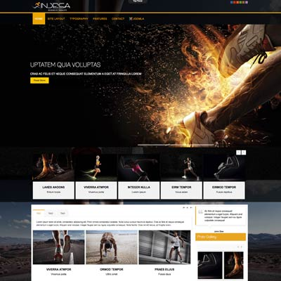 Running Club & Sports Joomla Template