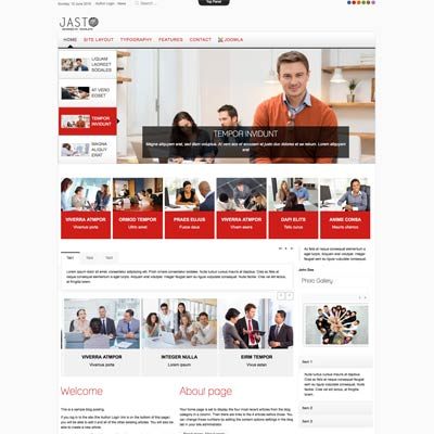 Consulting Business Joomla Template