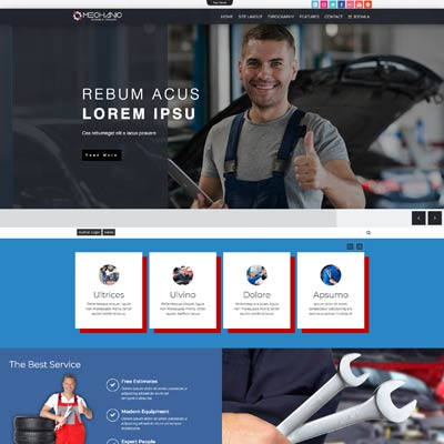 Mechanic Joomla Template