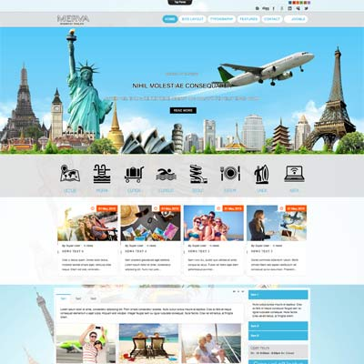 Travel Tour Joomla Template