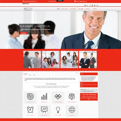 Business Corporate Joomla Template
