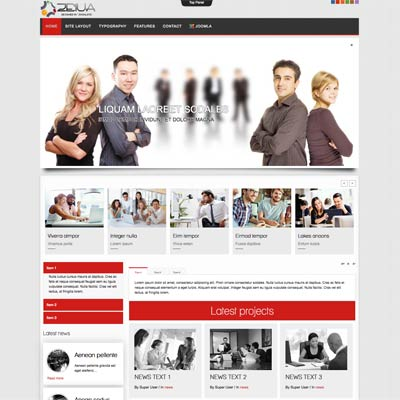 Internet Marketing Joomla Template